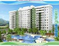 Apartamento na planta Barra da Tijuca Aquagreen Real Nobile RJ