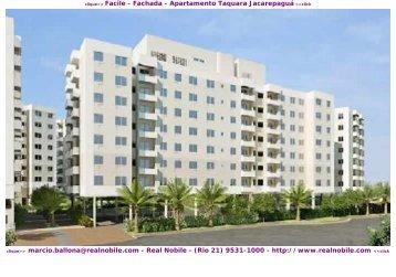 Apartamentos na planta Taquara Facile Real Nobile RJ