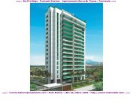 Apartamentos na planta Barra da Tijuca Via Privilege Real Nobile RJ