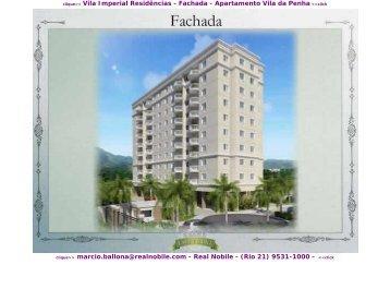 Apartamentos na planta Vila da Penha Vila Imperial Real Nobile RJ