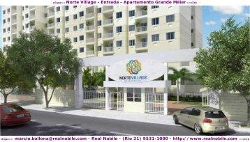 Apartamentos na planta Meier Norte Village Real Nobile RJ
