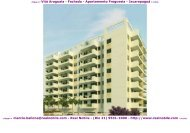 Apartamentos na planta na Freguesia Vita Araguaia Real Nobile RJ