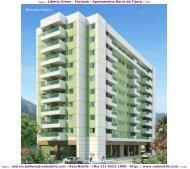 Apartamentos na planta Barra da Tijuca Liberty Green Real Nobile RJ
