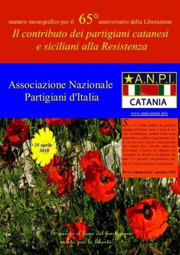 ANPIweb - ANPI Catania