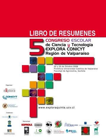 libro de resumenes - Explora.ucv.cl - Pontificia Universidad Católica ...