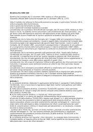 Direttiva 91/689/CEE Direttiva del Consiglio del 12 ... - Comieco