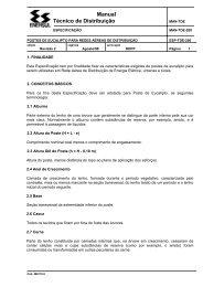Manual Técnico de Distribuição - Rede Energia