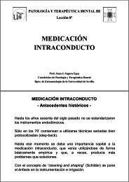 MEDICACIÓN INTRACONDUCTO - Personal.us.es - Universidad de ...
