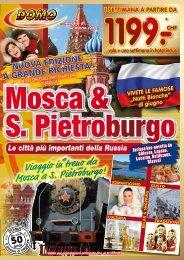 Viaggio in treno da Mosca a S. Pietroburgo! - Domo Reisen