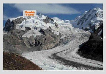 I ghiacciai a calotta - Zona Geografia
