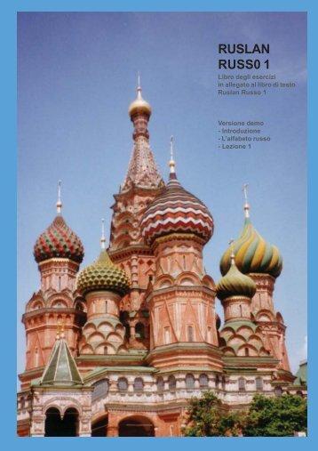 RUSLAN RUSSO 1 Libro degli esercizi