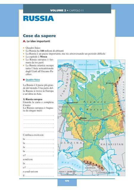 Cartina Russia Politica In Italiano.Russia Benvenuti Zanichelli Il Sito Per Imparare L