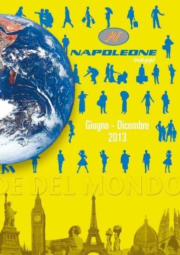 Clicca qui per scaricare il nostro catalogo in ... - Napoleone Viaggi