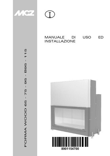 Manuale di Uso ed Installazione - Italiano - MCZ