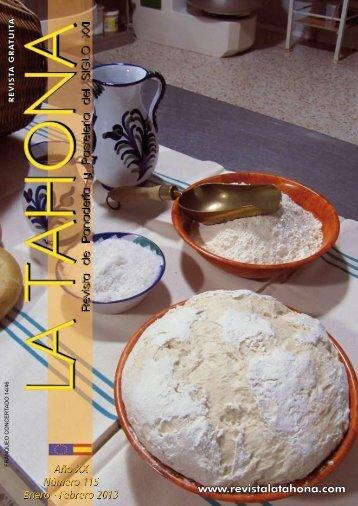 aniversarios - Revista La Tahona.