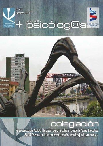 Salud Mental en la Intendencia de Montevideo | vida - Coordinadora ...