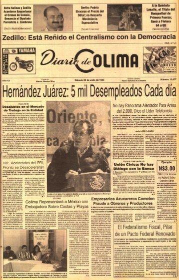 Hernandez Juarez . 5 mil Desempleados Cada dia - Universidad de ...
