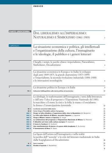 La situazione economica e politica, gli intellettuali ... - Palumbo Editore