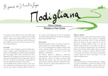 Guida turistica di Modigliana in versione italiana (pdf - Comune di ...