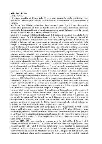 Scarica il testo in formato PDF - Portale di Archeologia Medievale