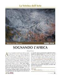 L'Africa di Guido Villa - Art-Wine.Eu