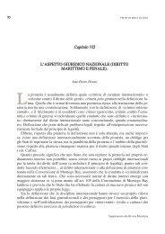 L'aspetto giuridico nazionale (diritto marittimo e ... - Marina Militare