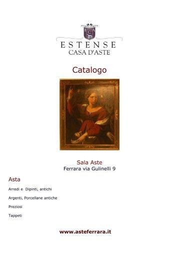 Catalogo - Estense Casa Aste