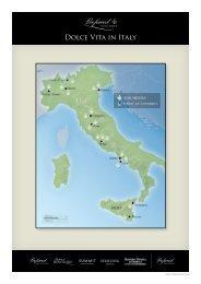 Dolce Vita in Italy