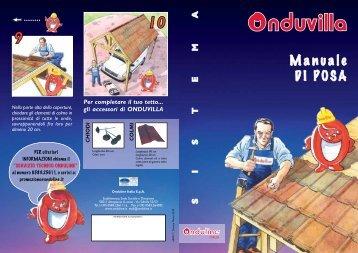 Manuale di posa ONDUVILLA - Onduline