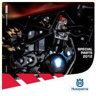 SPECIAL PARTS 2012 - Husqvarna