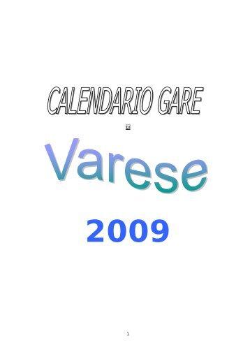Calendario 2001.Gavirate Magazines