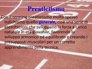 preatletismo specifico