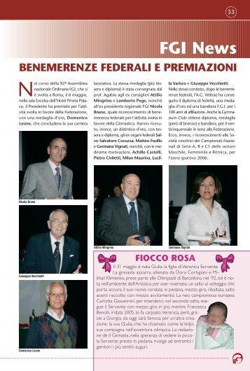 FGI News - Federazione Ginnastica d'Italia