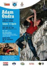 Adam Ondra 2013-04-13.pdf - CAI Sezione di Cremona