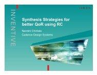 Microsoft PowerPoint - 3.5presentation.ppt - Cadence Design Systems