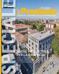 Scarica la rivista completa - Provincia di Milano