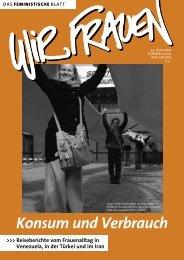 Gesamte Ausgabe als PDF - 1,7 MB - Wir Frauen