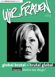 Gesamte Ausgabe als PDF - 1,4 MB - Wir Frauen