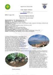 Alpinismo Giovanile - CAI Sezione di Napoli