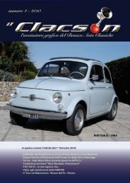 edizione n° 4 anno 2010 - Benaco Auto Classiche