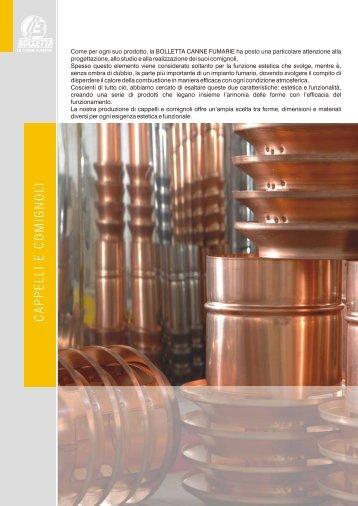 BOLLETTA LISTINO 2011 CAPPELLI E COMIGNOLI - SENZA PREZZI