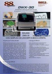 DWX-30 Depliant informativo - 88dent
