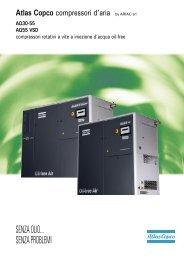 compressori oil free iniezione ad acqua - ARIAC srl