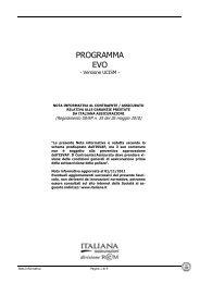 Evo versione UCISM - Italiana Assicurazioni