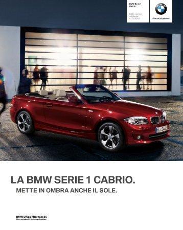 LA BMW SERIE 1 CABRIO.