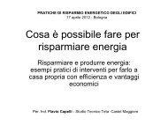 Cosa è possibile fare per risparmiare energia - Comune di Bologna