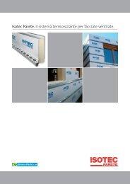 Isotec Parete. Il sistema termoisolante per facciate ventilate. - Edilio