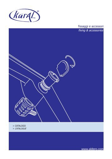 Catalogo karAL - Aldero Industrial Supplies S.r.l.