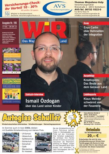 Ismail Özdogan in der - Das WIR-Magazin im Gerauer Land