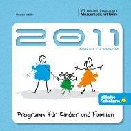 Programm für Kinder und Familien